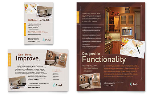 Home Remodeling - Flyer & Ad Template