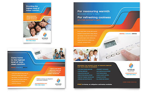 HVAC Flyer & Ad Template