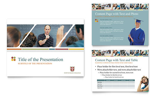 College & University PowerPoint Presentation Template