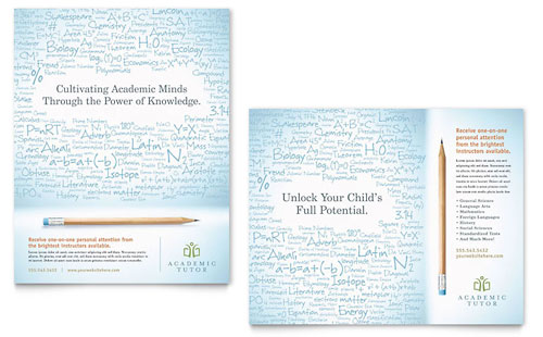Academic Tutor & School Poster Template
