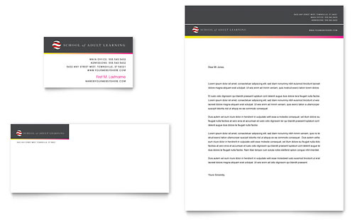 Education Training Letterheads – Letterhead Format in Word