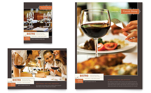 Bistro & Bar Flyer & Ad Template