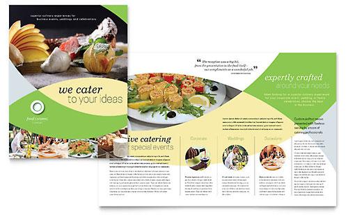 Food Catering Brochure Template