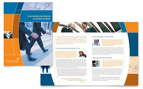 Investment Services Brochure Template