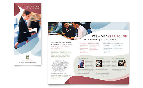 Tax Accounting Services - Brochure Template