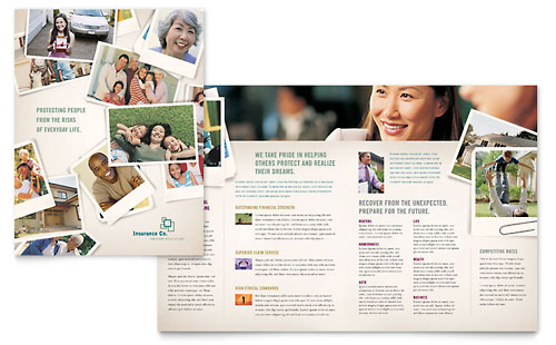 Life Insurance Company Brochure Template