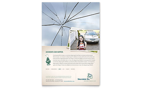 Life Insurance Company Flyer Template