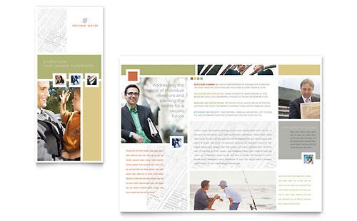 Investment Advisor Brochure Template