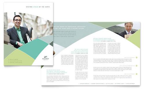 Financial Advisor Brochure Template
