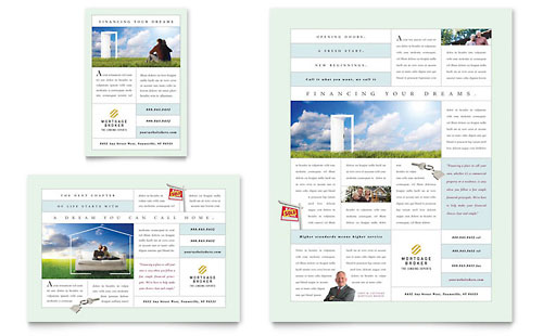 Mortgage Lenders Flyer & Ad Template