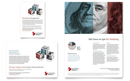 Investment Bank Flyer & Ad Template
