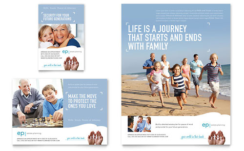 Estate Planning Flyer & Ad Template
