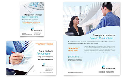 Accounting Firm Flyer & Ad Template