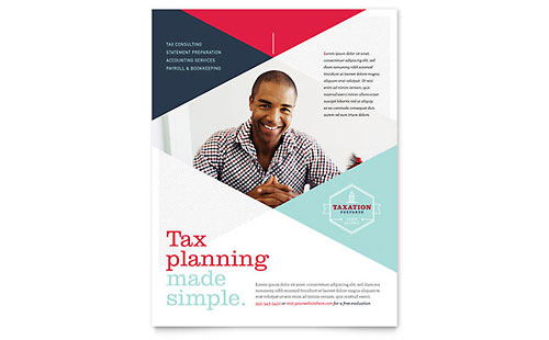 Tax Preparer - Flyer Template