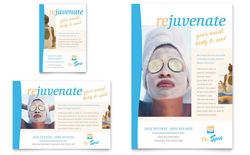 Beauty Spa Flyer & Ad Template