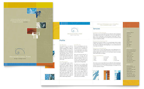 Architectural Firm Brochure Template