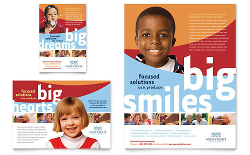Community Non Profit Flyer & Ad Template