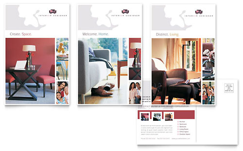 Interior Designer - Postcard Template