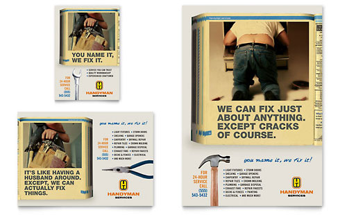 Home Repair Services Flyer & Ad Template
