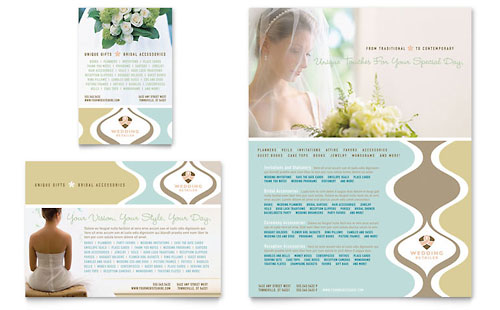Wedding Store & Supplies Flyer & Ad Template