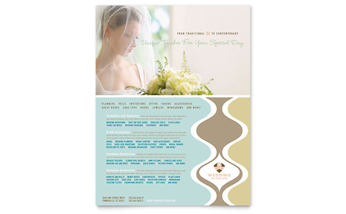Wedding Store & Supplies - Flyer Template