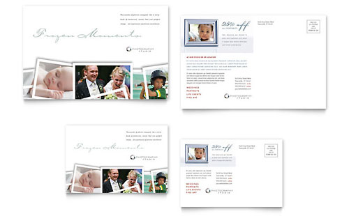 Photographer - Postcard Template
