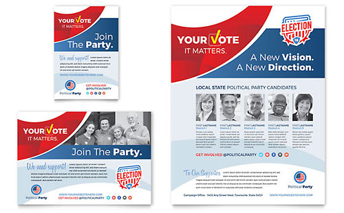Election - Flyer & Ad Template