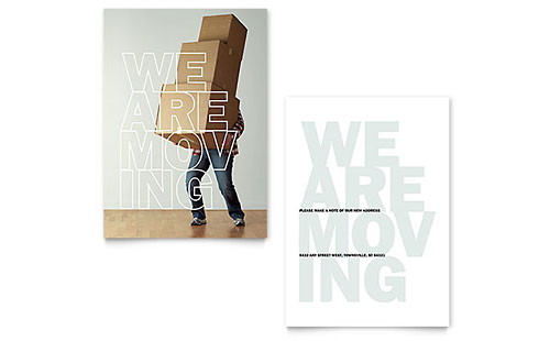 We're Moving Announcement Template