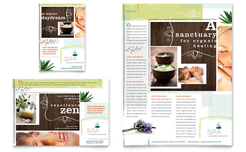Day Spa Flyer & Ad Template