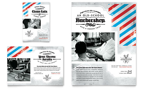 Barbershop Flyer & Ad Template