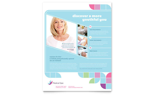 Medical Spa Flyer Template