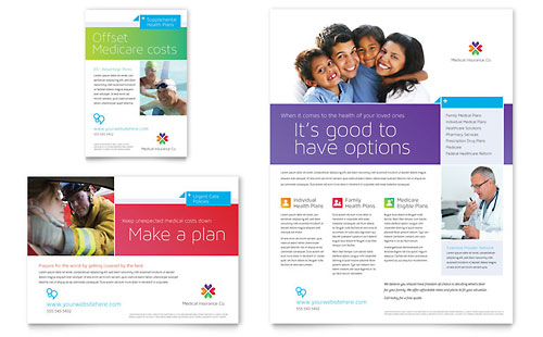 Medical Insurance - Flyer & Ad Template