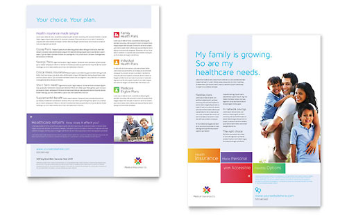 Medical Insurance Datasheet Template