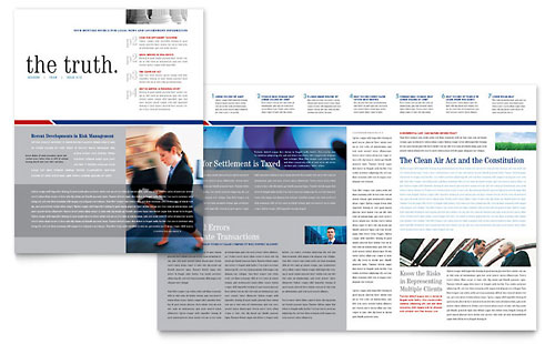 Legal & Government Services Newsletter Template