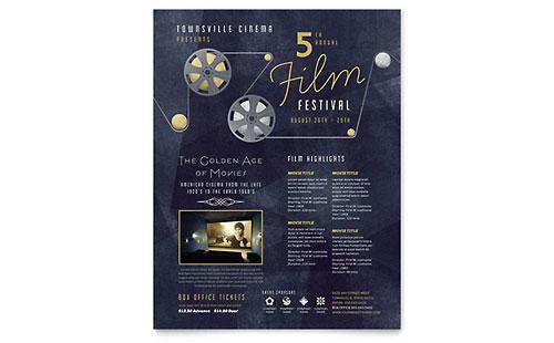 Film Festival Flyer Template