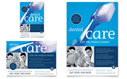 Dentist Office - Flyer & Ad Template