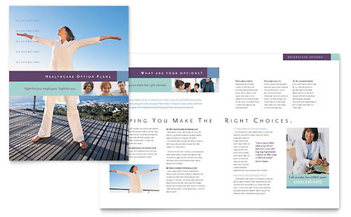 Medical Insurance Company Brochure Template