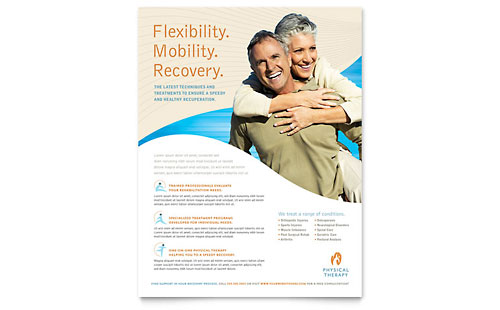 Physical Therapist Flyer Template