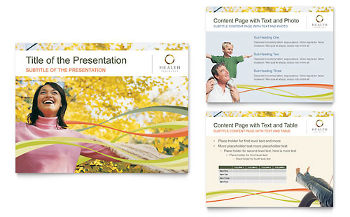 Health Insurance Company PowerPoint Presentation Template