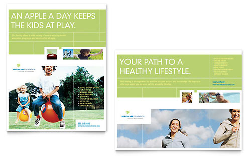 Healthcare Management Poster Template