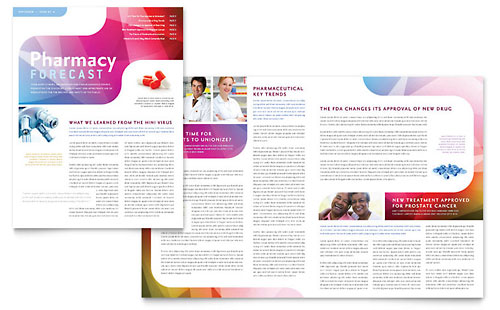 Pharmacy School Newsletter Template