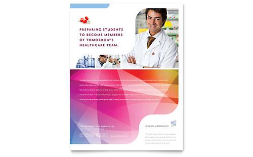 Pharmacy School - Flyer Template