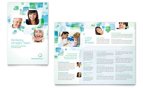 Medical Health Care Brochures – Free Medical Brochure Templates