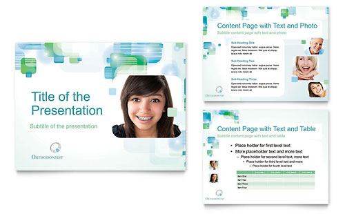 Orthodontist PowerPoint Presentation Template
