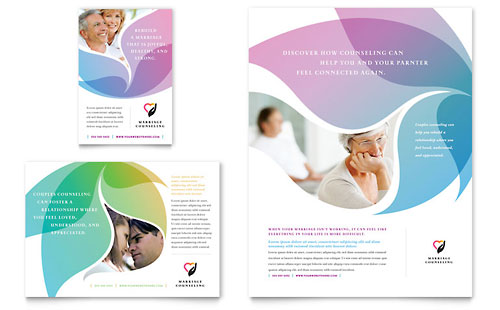 Marriage Counseling - Flyer & Ad Template