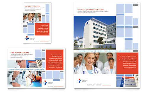 Hospital Flyer & Ad Template