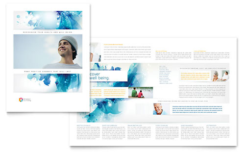 Behavioral Counseling Brochure Template