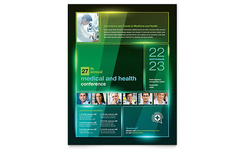 Medical Conference - Flyer Template