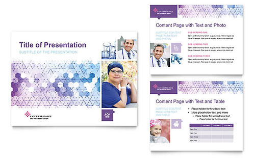 Cancer Treatment PowerPoint Presentation Template