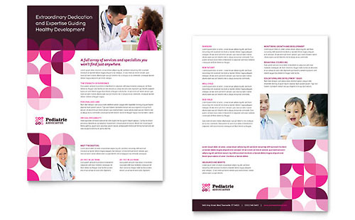 Pediatric Doctor Sales Sheet Template